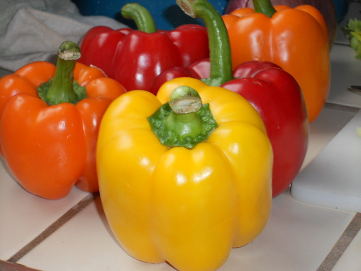 Bell peppers are very healthy with no fat, low calories and they are rich in vitamins and minerals