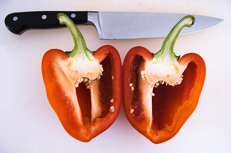 Bell peppers are easy to prepare for a wide range of uses and dishes