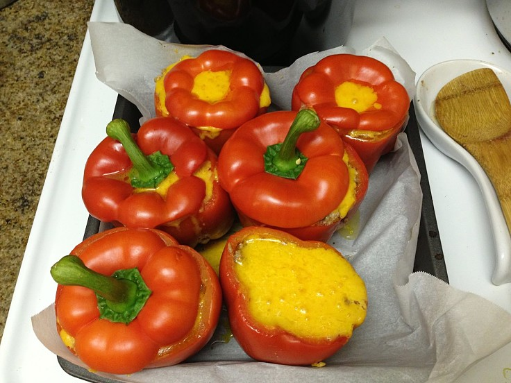 You can use bell peppers in a wide variety of ways. Stuffed bell peppers are a delight.