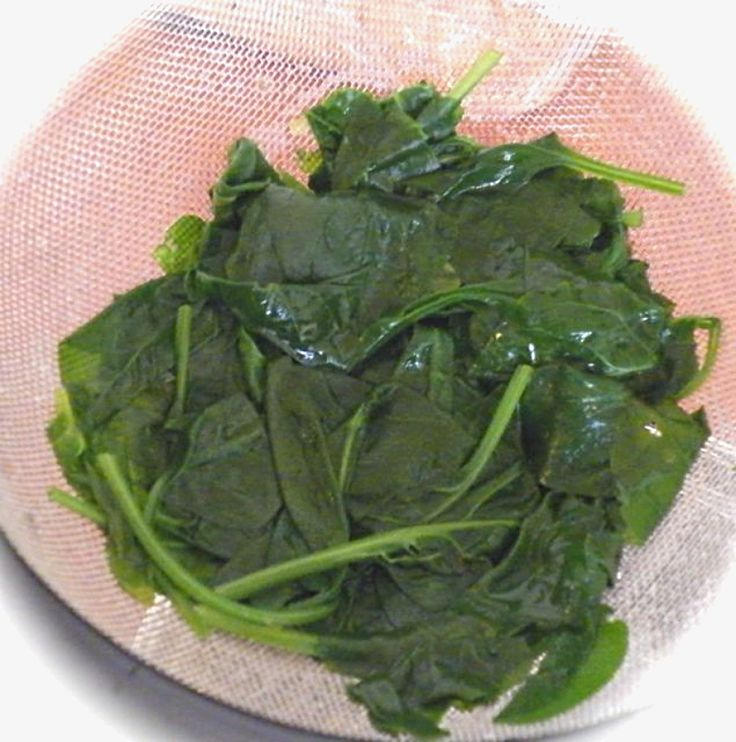 Steamed spinach is slightly more nutritious than raw spinach