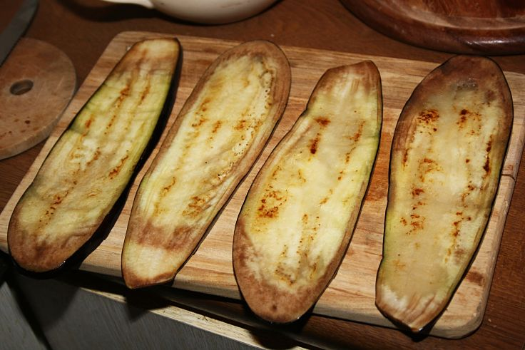 Grilled eggplants are the base of many fabulous dishes. See the recipes here