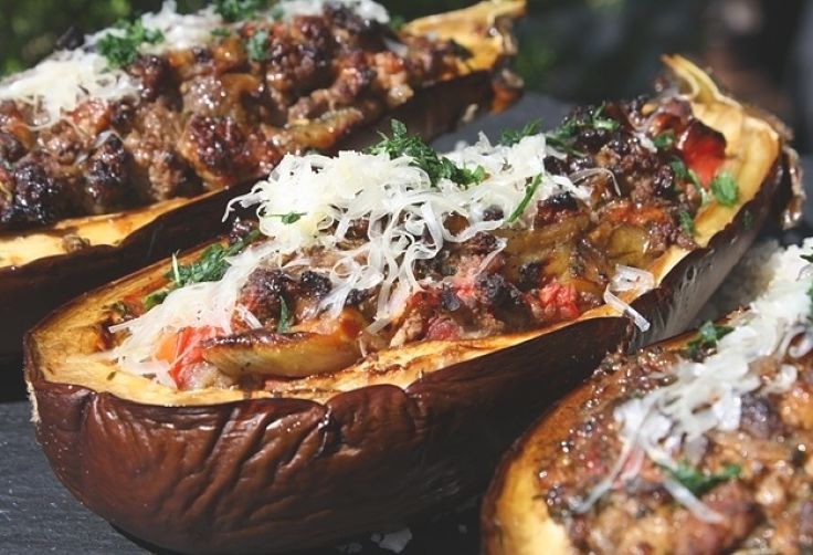 Stuffed eggplants are an absolute delight - very healthy and delicious