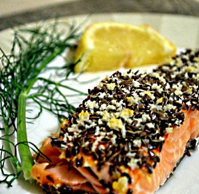 Flaxseed can be added to crumbs, coatings and rubs for grilled and fried chicken breasts and fish pieces
