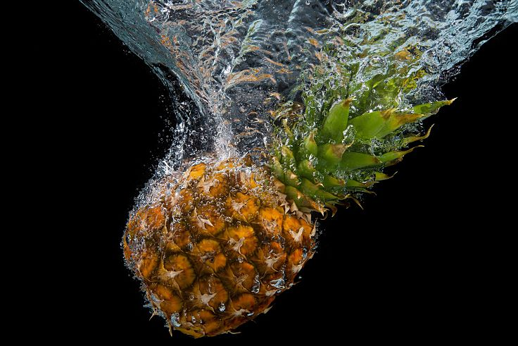 Grab a fresh pineapple in season and enjoy its delights. Fresh pineapple is very healthy and versatile