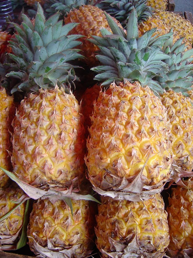 Fresh ripe pineapple is a delight to use in many ways for a range of savory meals and dessert dishes