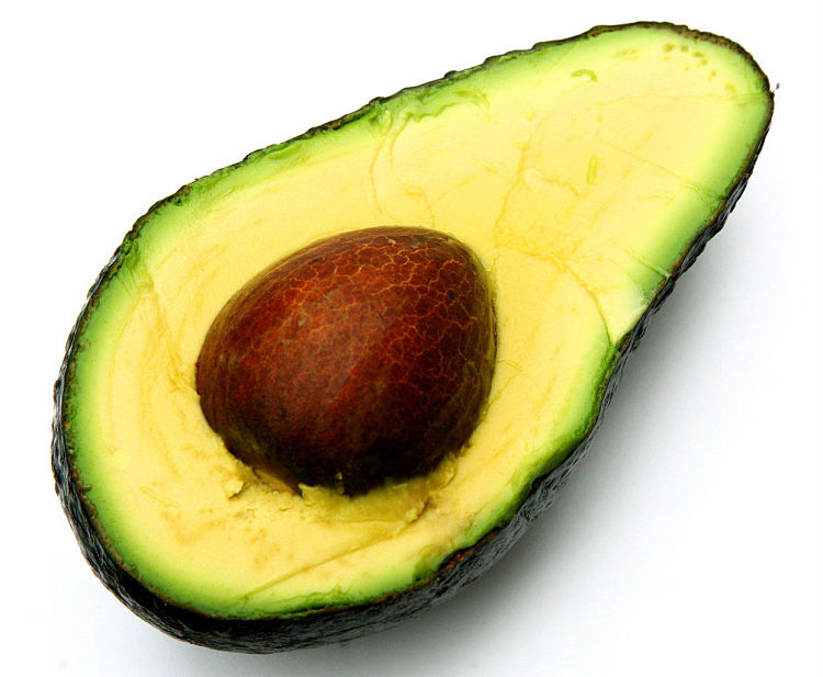 Avocados are very healthy, but they have relatively high levels of fat and calories.    See the nutrition facts and health benefits of avocado here