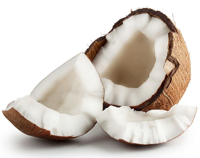 Coconut has many health benefits - see the details here with detailed nutrition charts