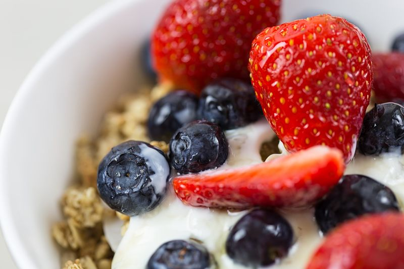 Check the ingredients to ensure your muesli is healthy with low fat, low calories and high GI