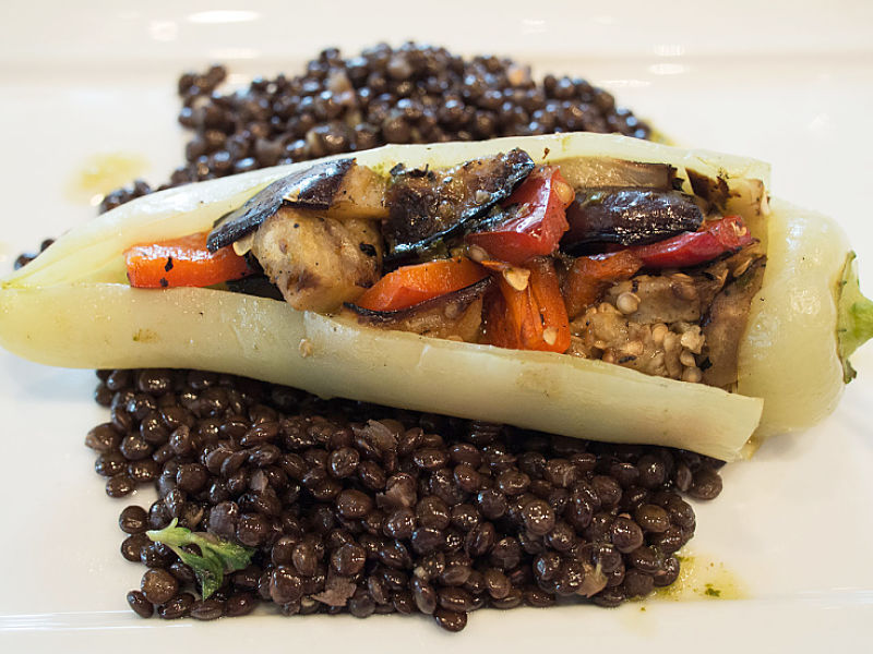 Black lentils are one of many unusual varieties that add interest and intrigue to many lentil dishes