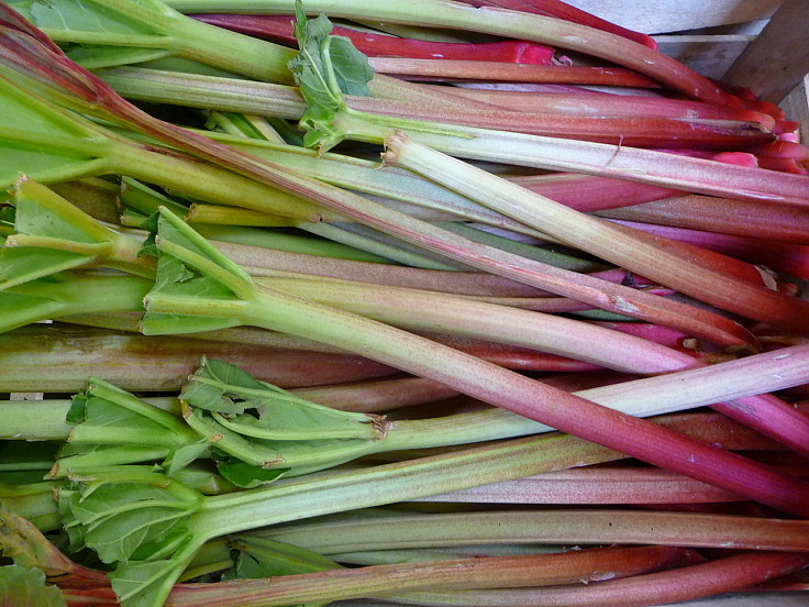 Rhubarb is surprisingly healthy with the least calories of other similar fruits. See great recipes here